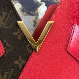 Louis Vuitton Bags - Louis Vuitton Monogram Calfskin Kimono MM Tote
